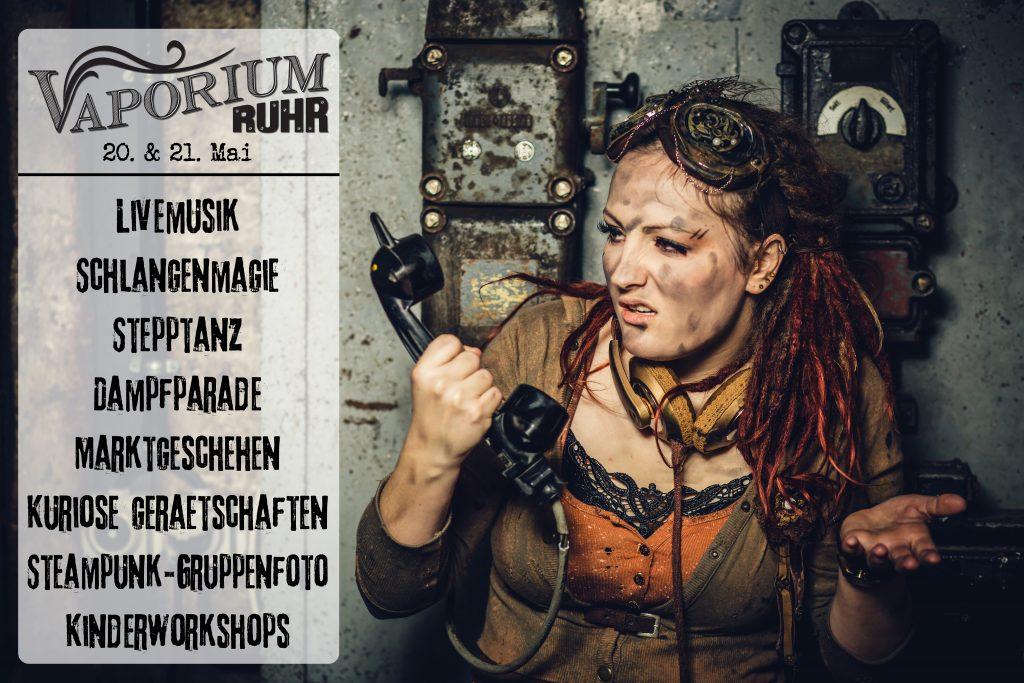 Vaporium Ruhr 2017 Programmübersicht